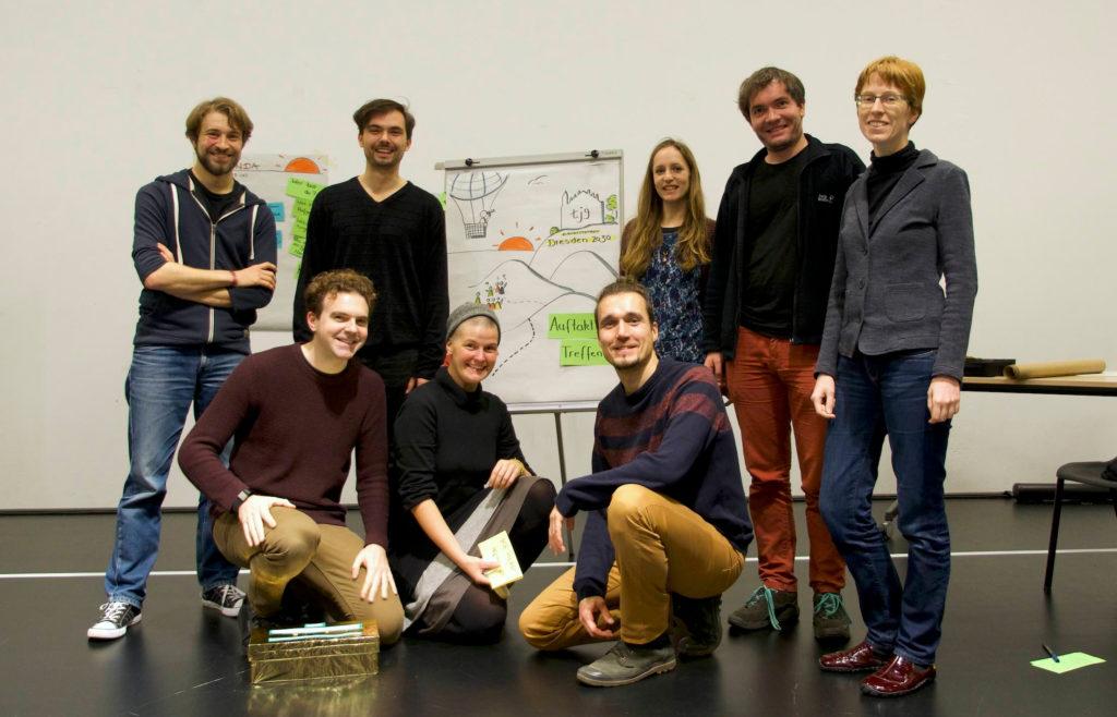 Das Projektteam von Nachhaltigkeit unternehmen.
